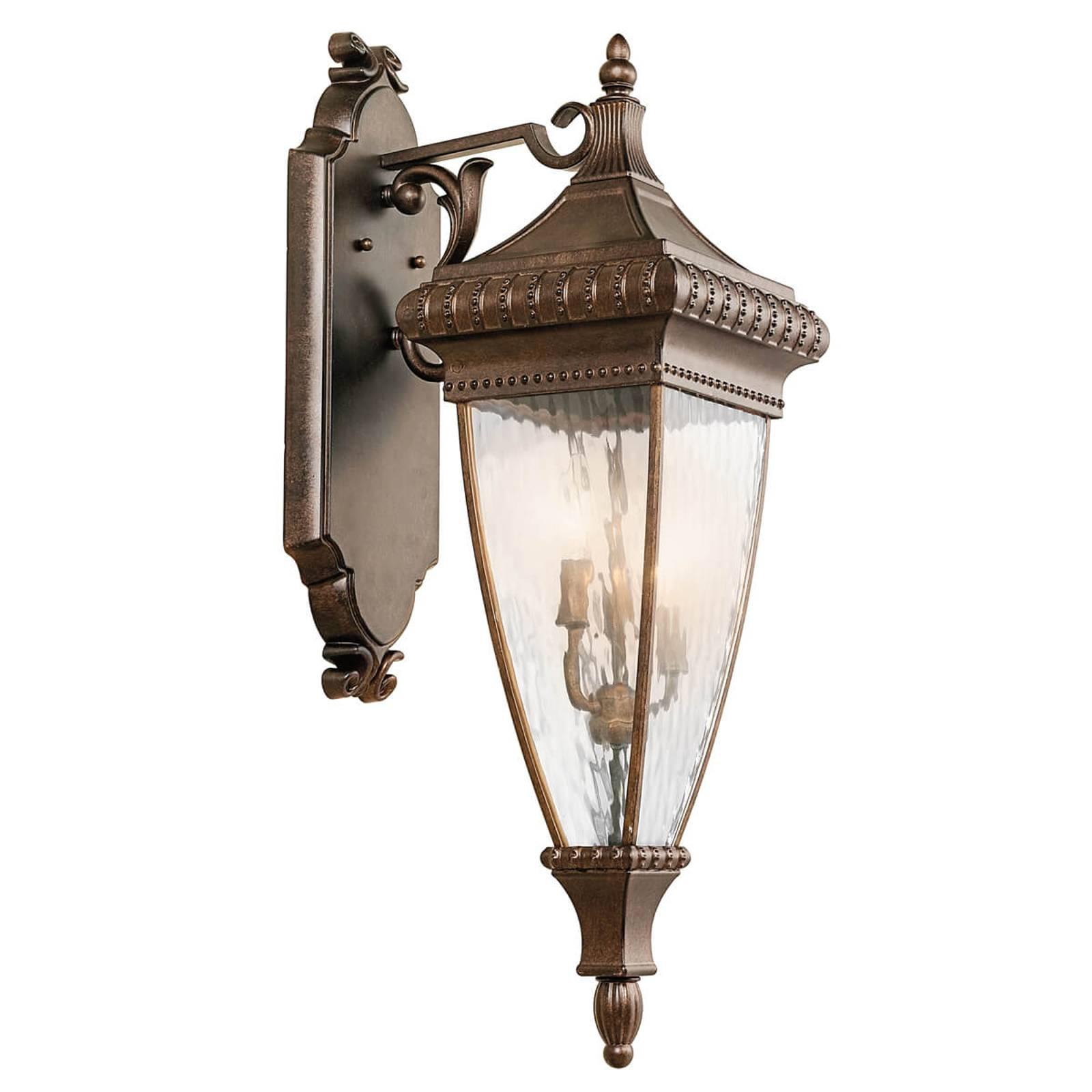 Applique lanterne Venetian Rain ornée