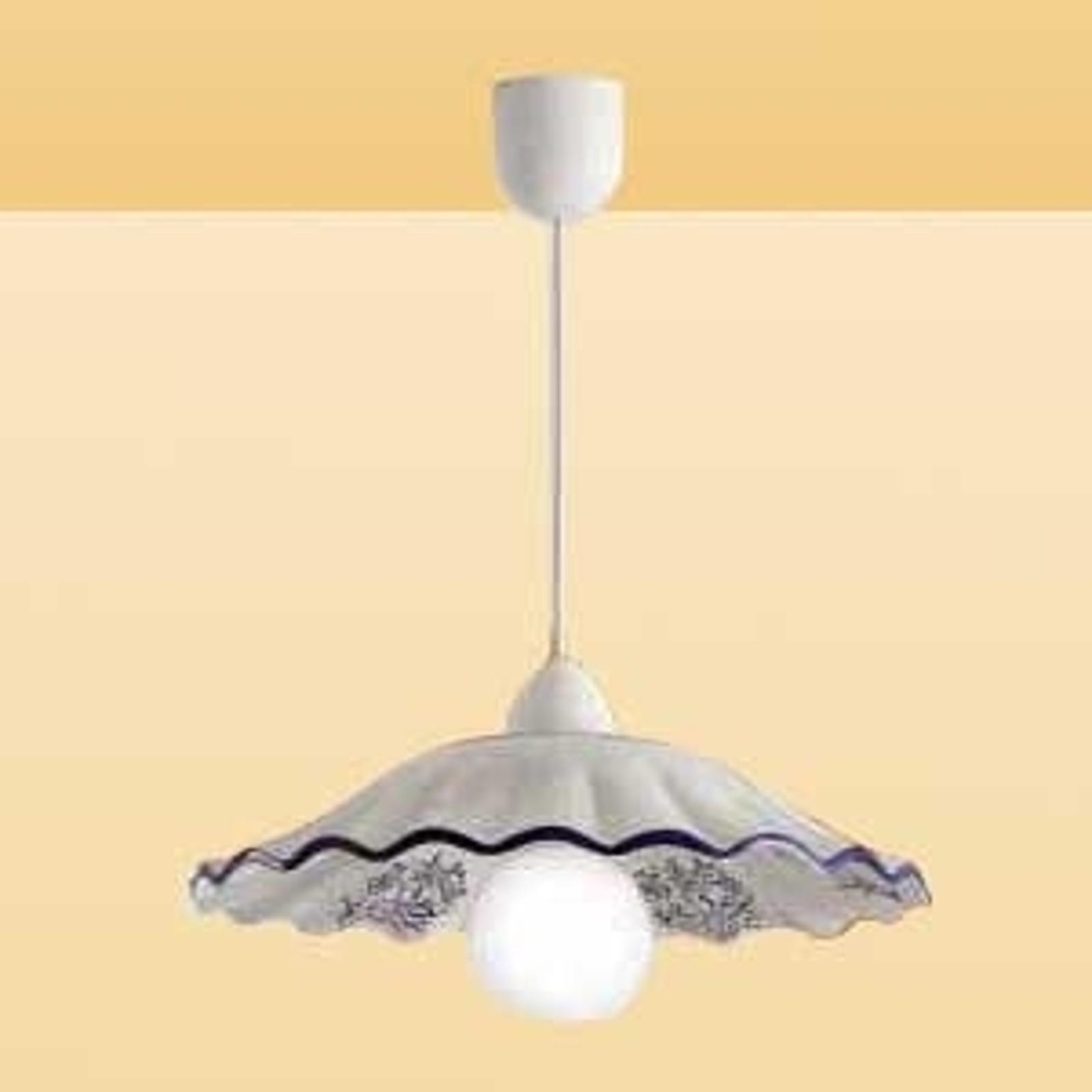 Lámpara colgante CELESTINA en un estilo romántico