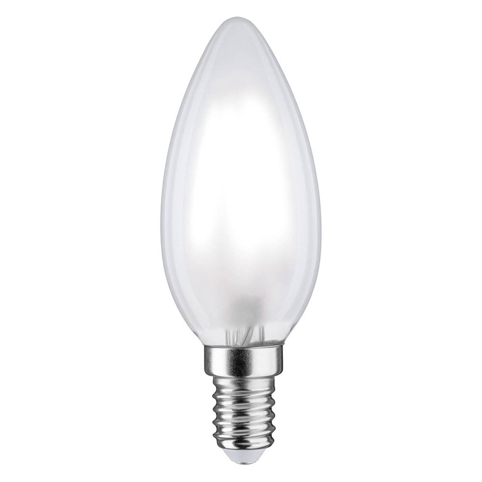 Paulmann LED-Kerze E14 5W 865 470lm matt dimmbar