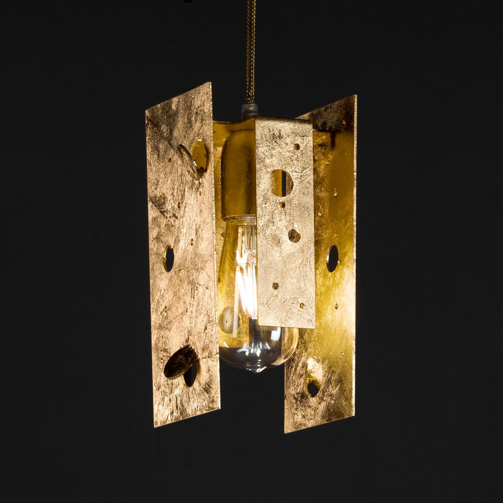 Knikerboker Buchi Hängelampe 11x11x23cm gold