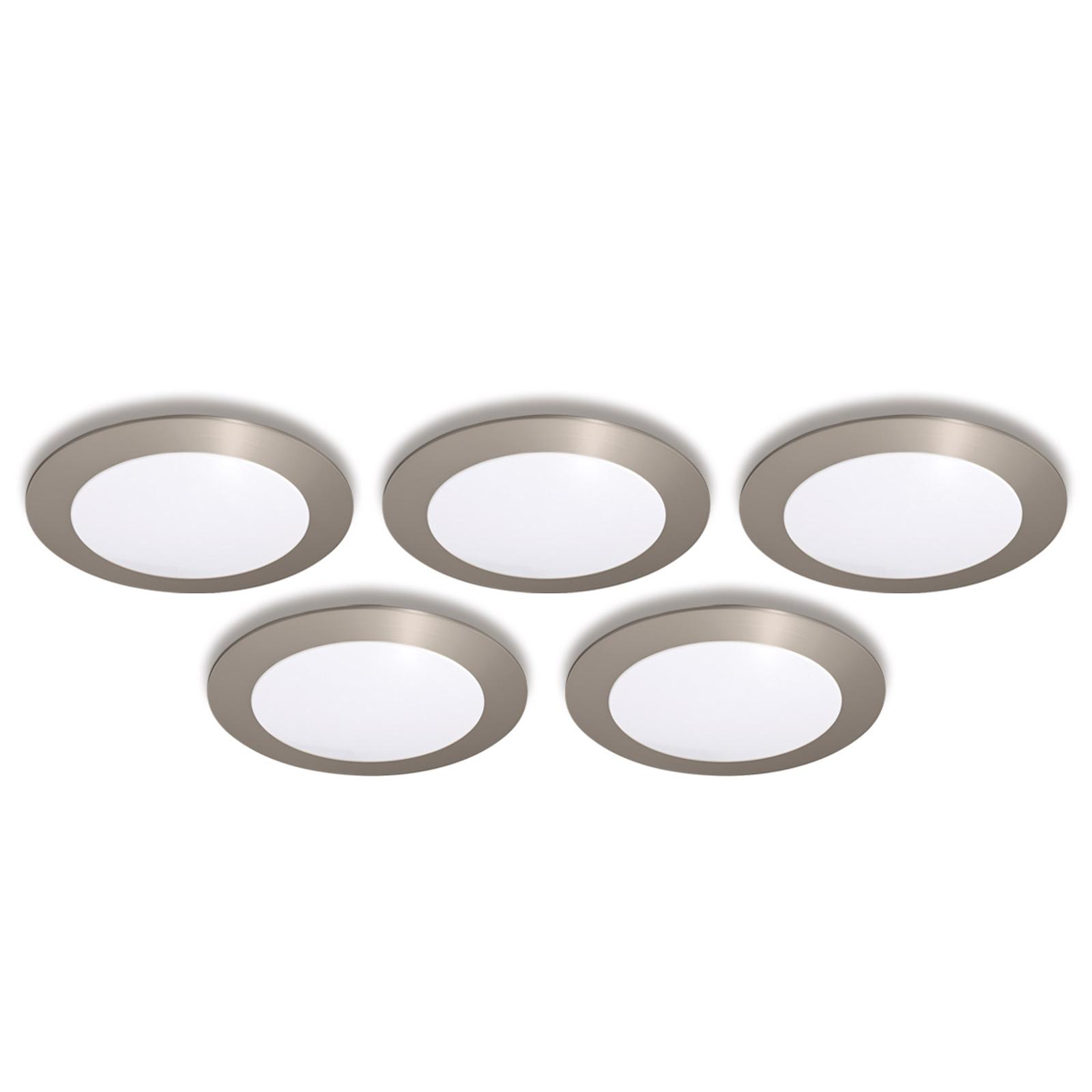 Einbauleuchte FR 68-LED 5er-Set  warmweiß