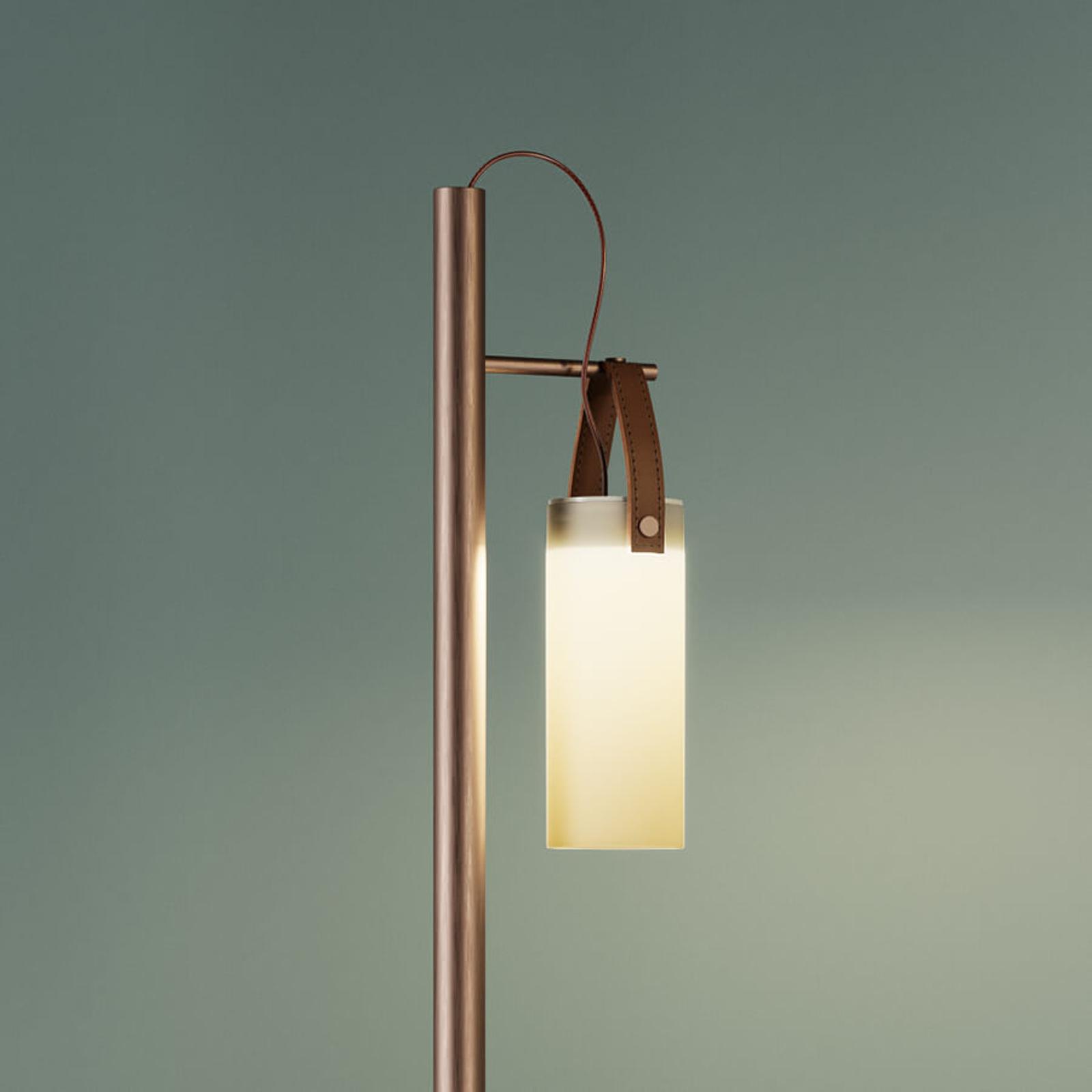 Lámpara de pie LED Galerie, un punto de luz