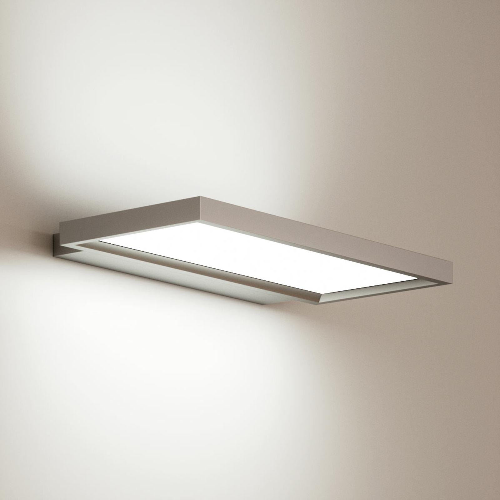 LED-vegglampe Rick til kontoret, universalhvit