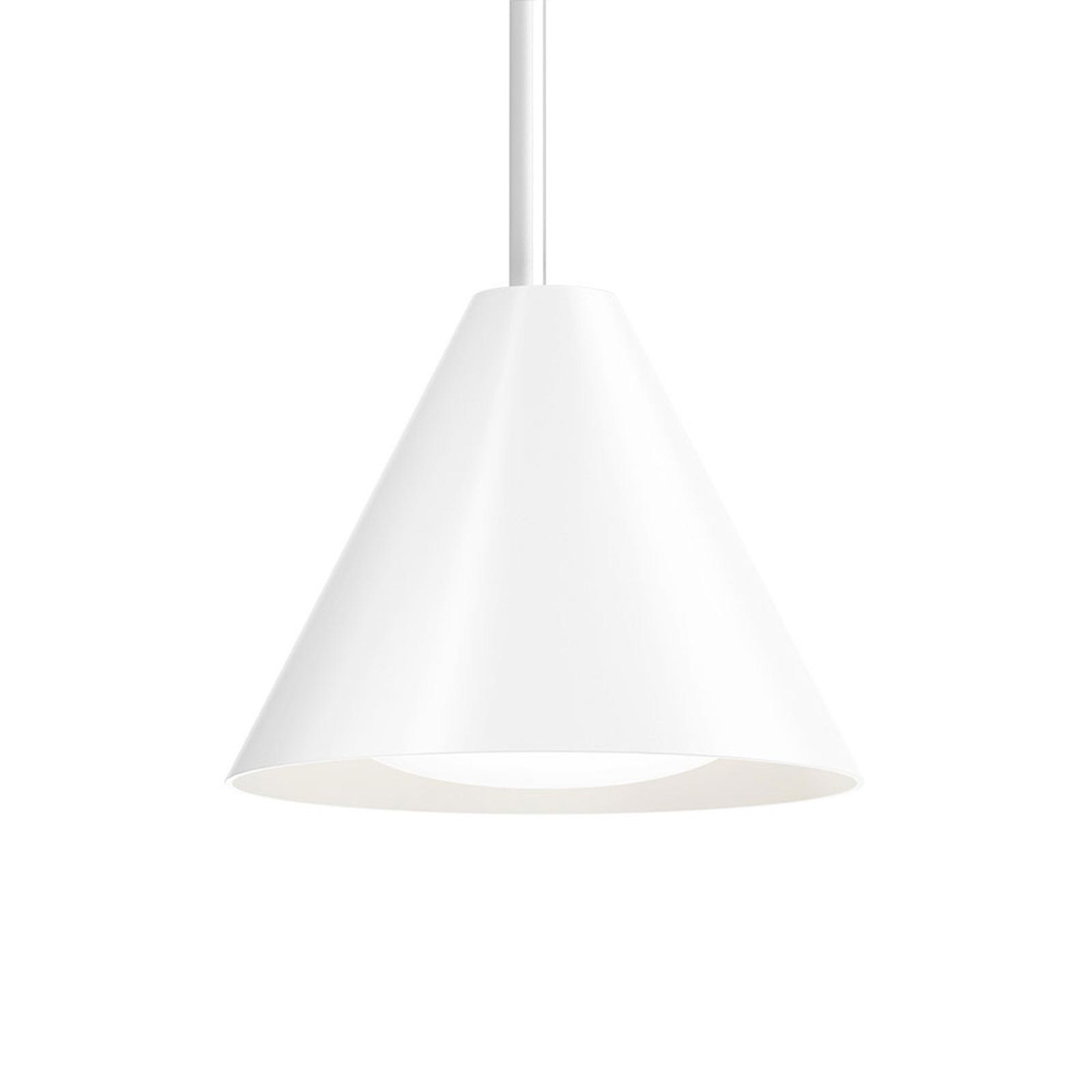 Louis Poulsen Keglen LED-Hängelampe 17,5cm weiß