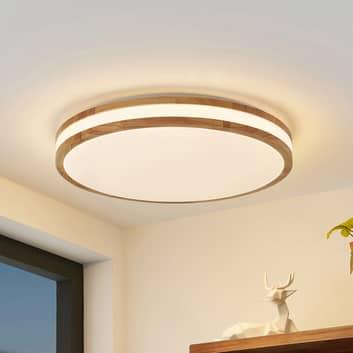 Lindby Emiva LED-Deckenlampe, Lichtstreifen mittig