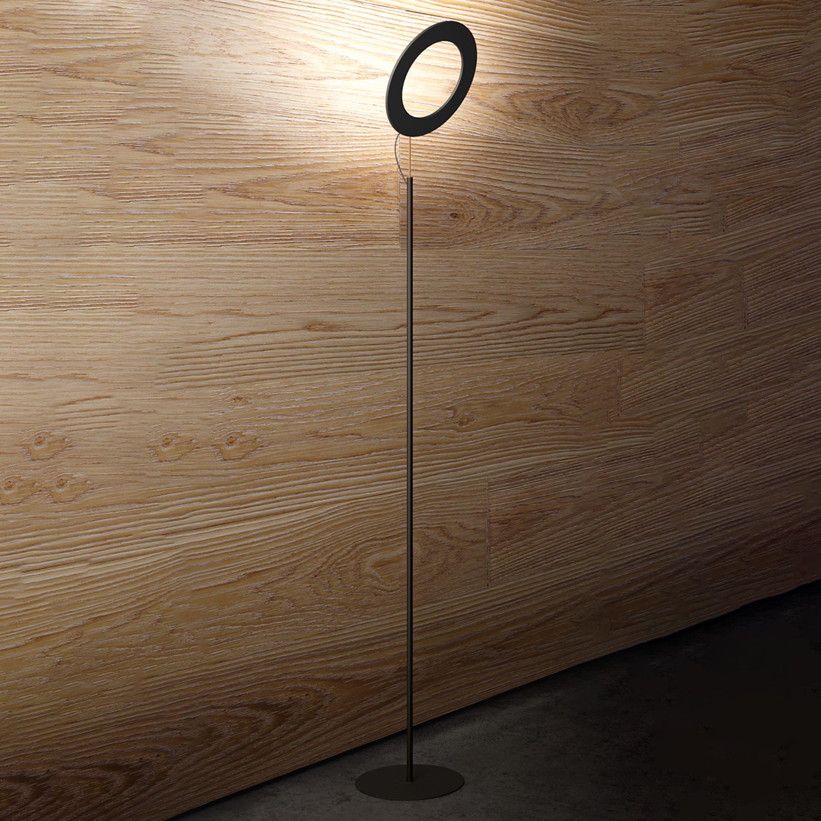 ICONE Vera ST - lampa stojąca LED, czarna