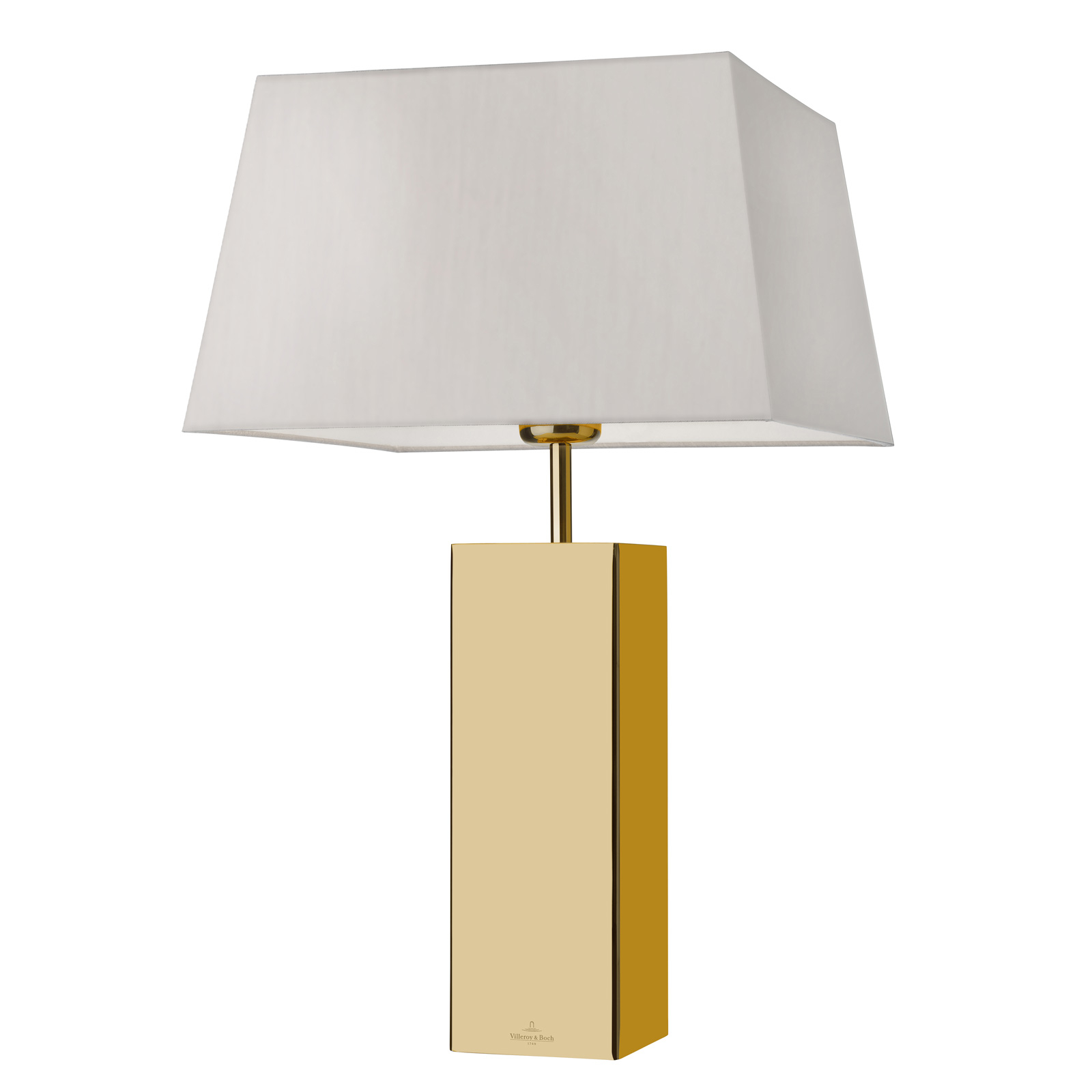 Villeroy & Boch Prag Tischlampe in Goldoptik