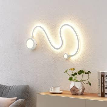 Lindby Rion LED nástěnné světlo, bílé