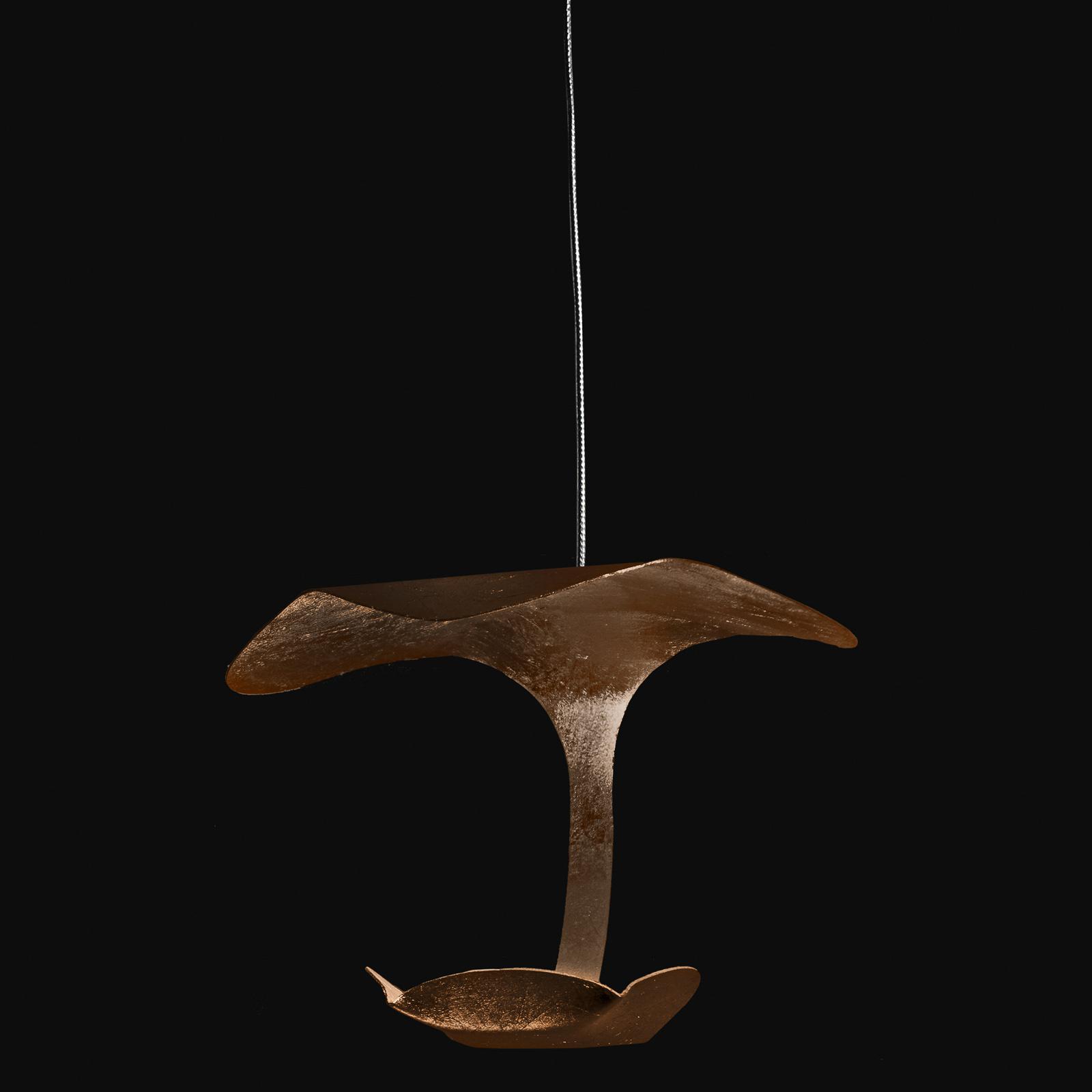 Knikerboker Le Gigine LED-Hängeleuchte 1fl bronze