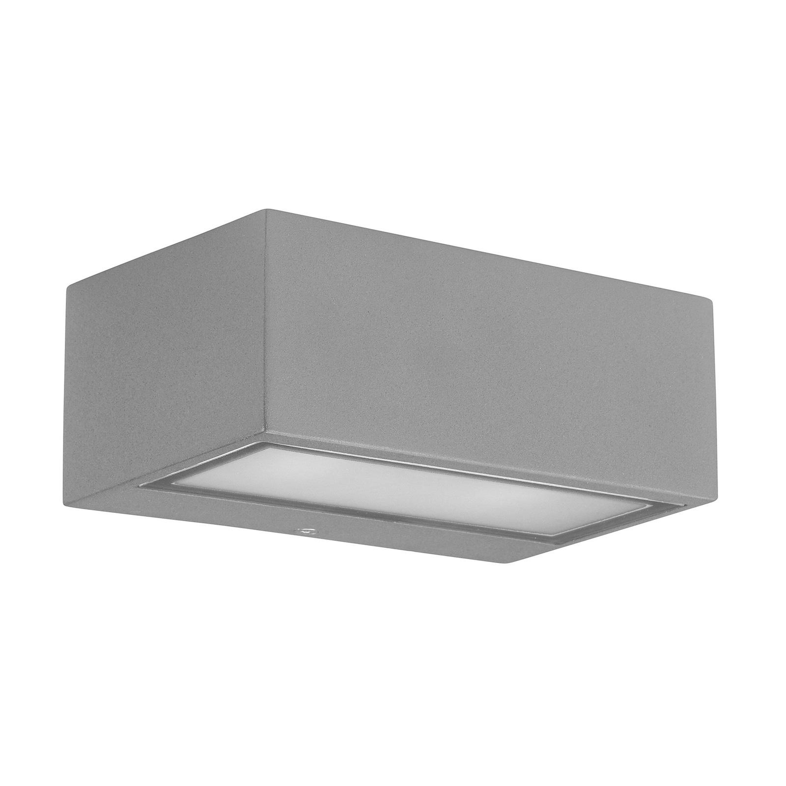 LEDS-C4 Nemesis Wandleuchte für außen, grau