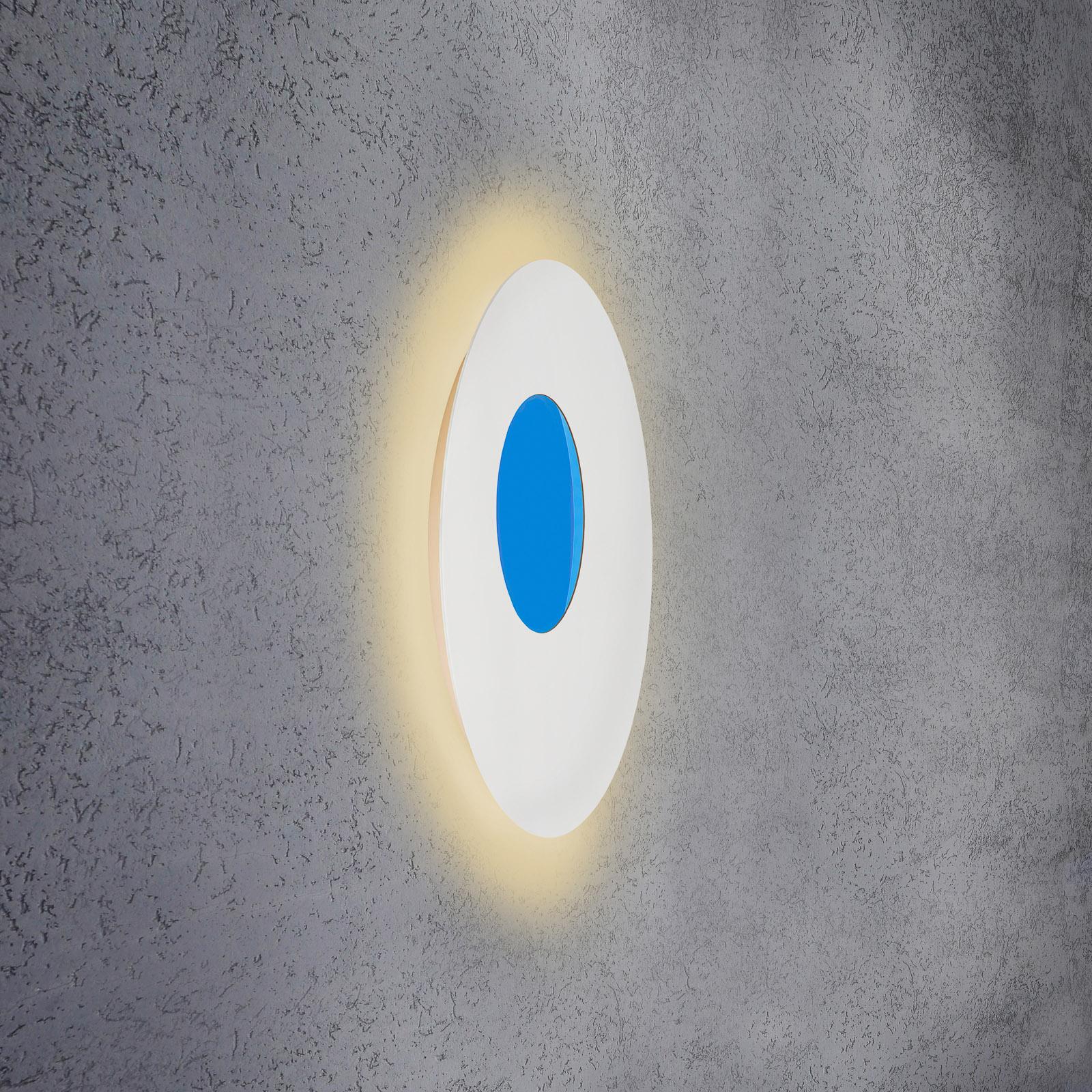 Escale Blade Open kinkiet LED RGB+W biały Ø59cm