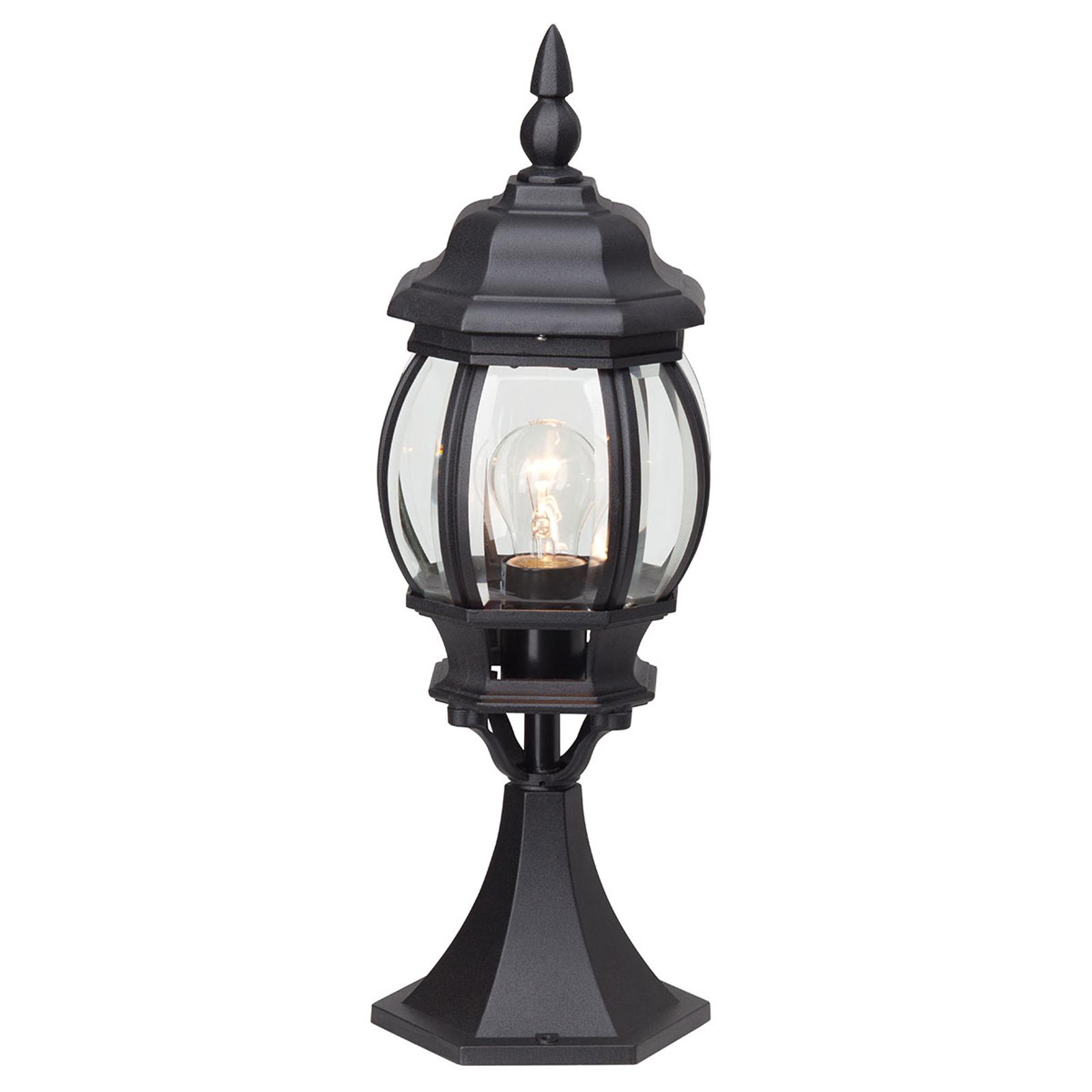 Elegante lampioncino Istria nero