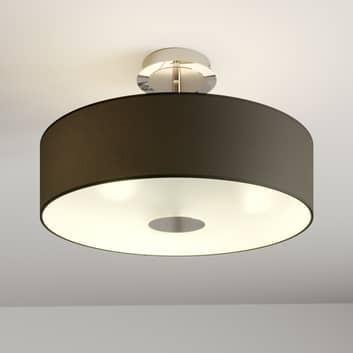 Sort loftlampe