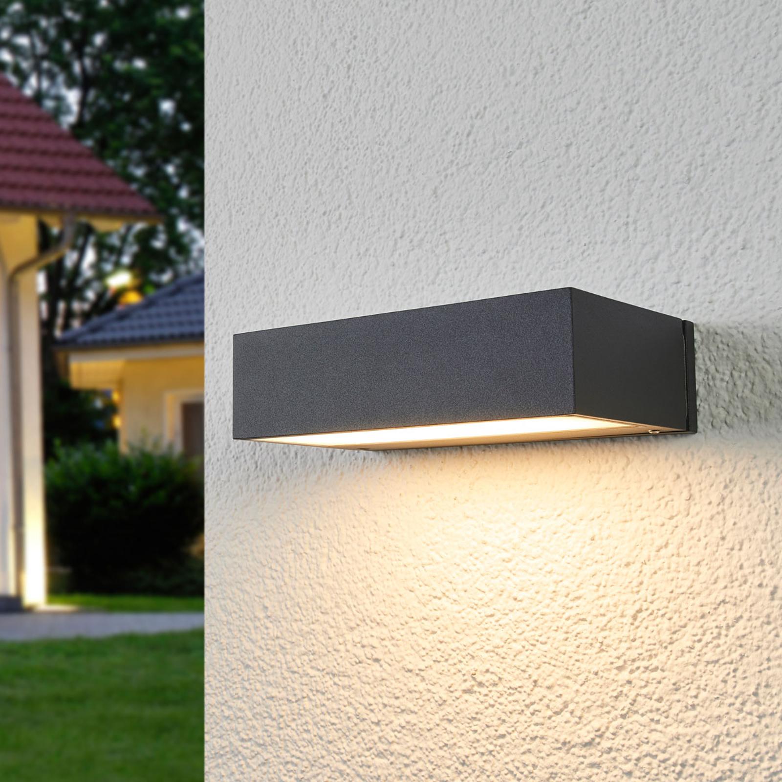 BEGA 33319K3 LED-Außenwandlampe down grafit 3.000K
