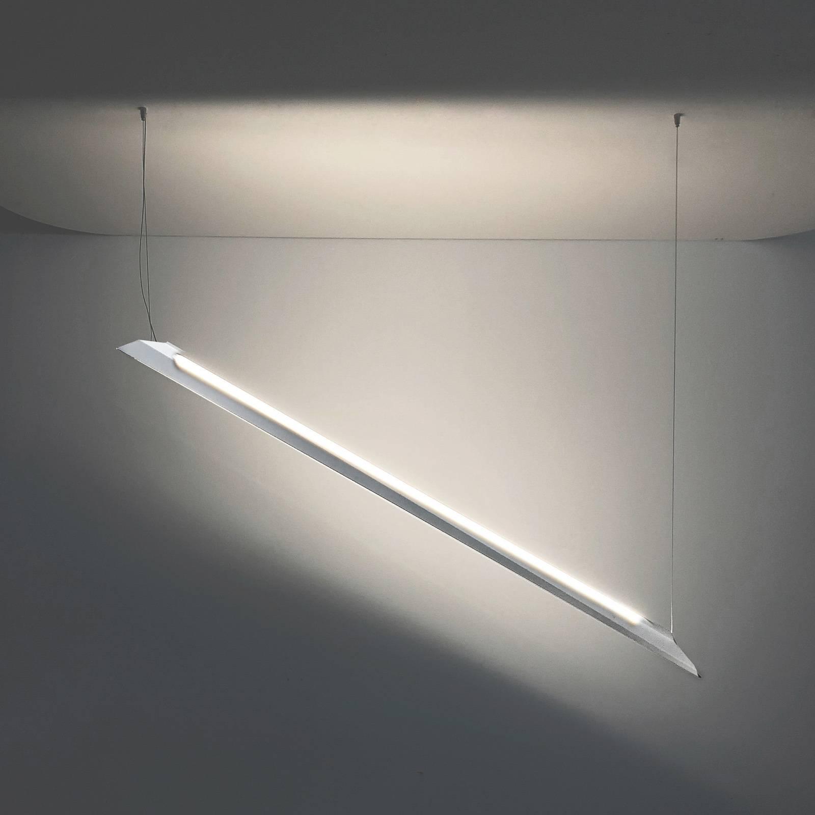 Knikerboker Schegge LED-Hängeleuchte 2-fl. weiß