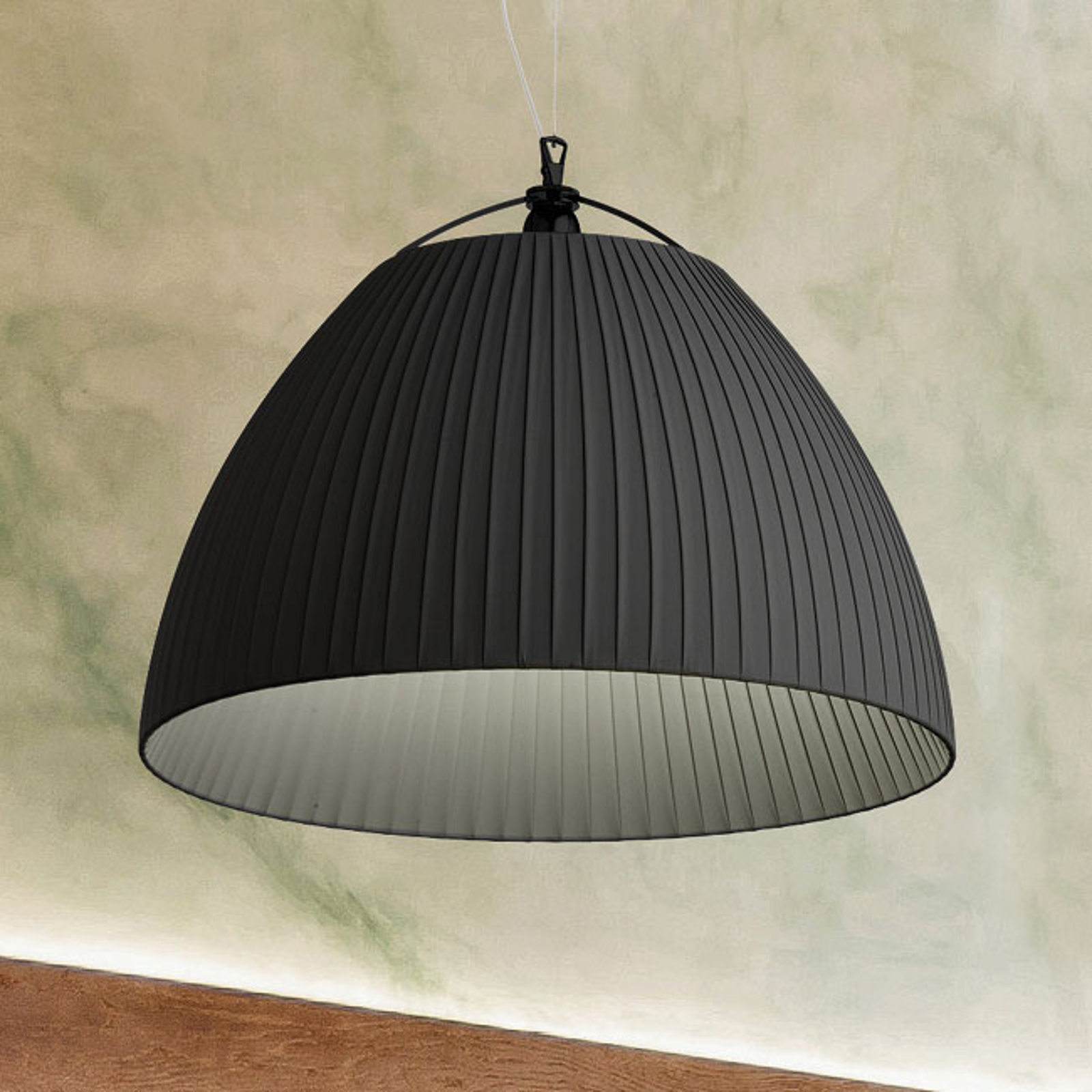 Modo Luce Olivia lampa wisząca Ø 60 cm czarna