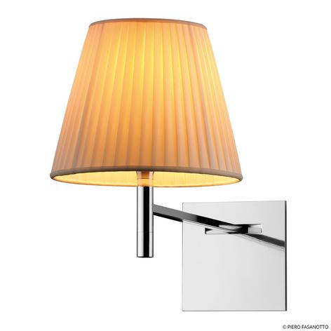 FLOS KTribe W wandlamp met stoffen kap Beige