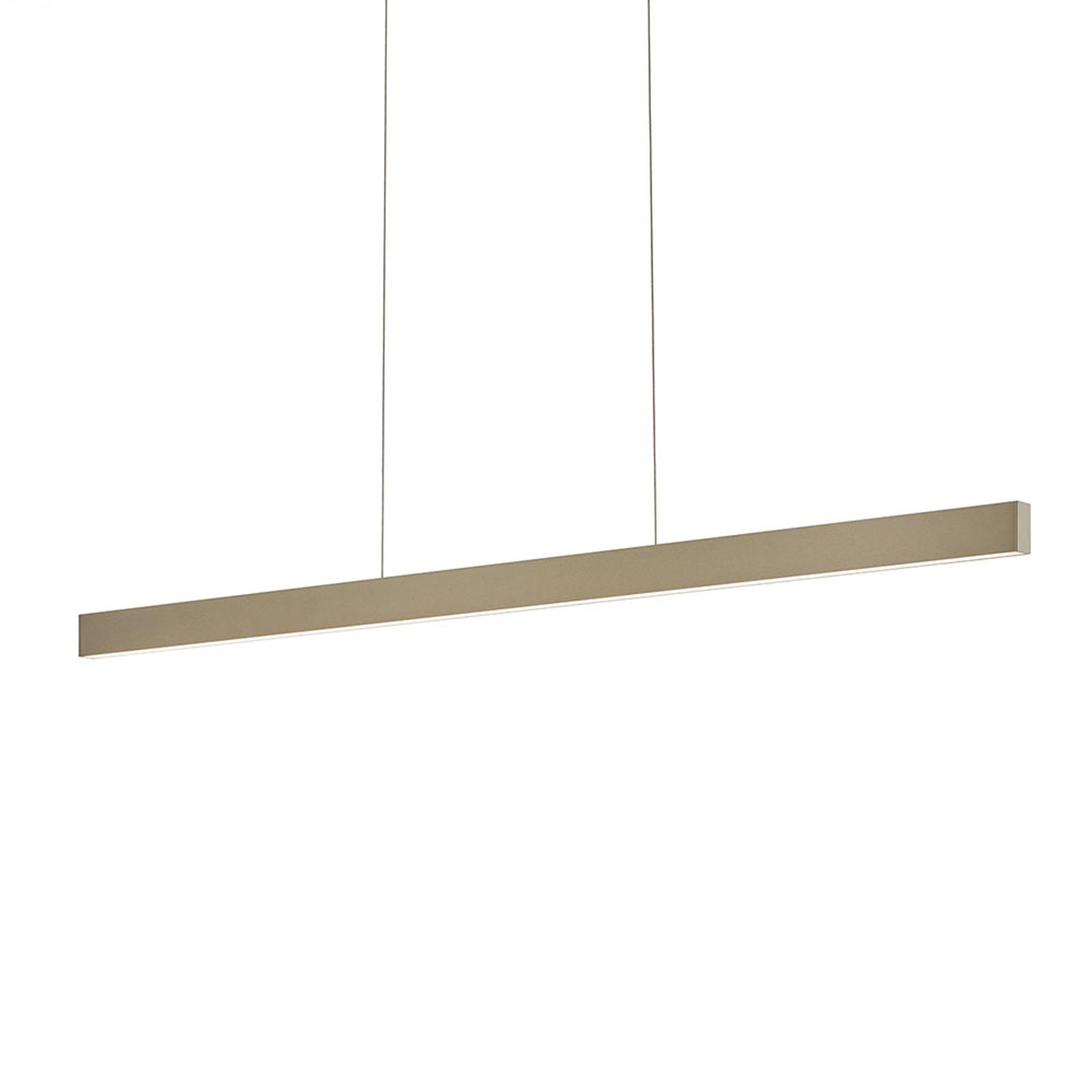 Linda-92 LED-hængelampe, bronze, 2.200-3.000 K