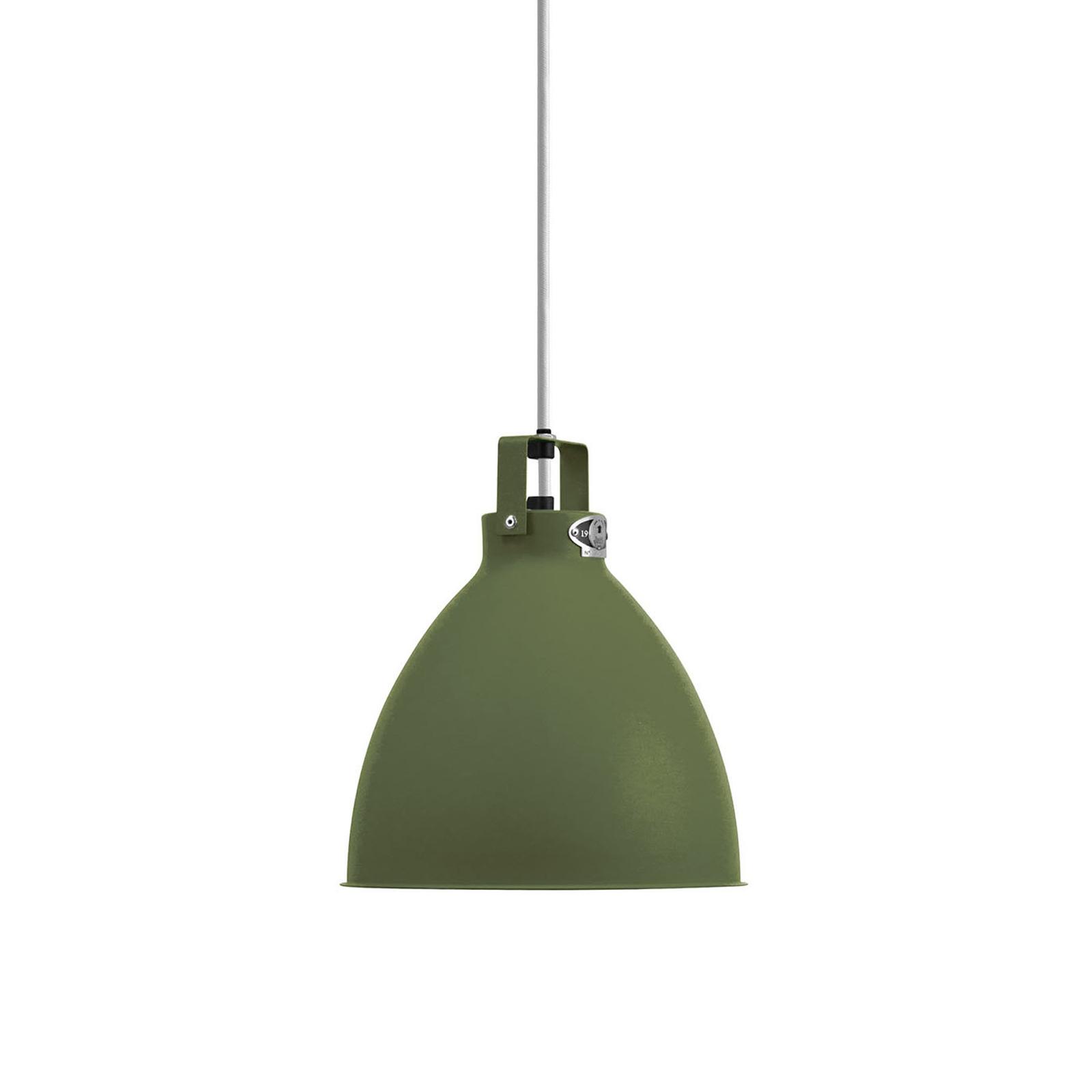 Jieldé Augustin A240 lampa wisząca oliwkowa matowa
