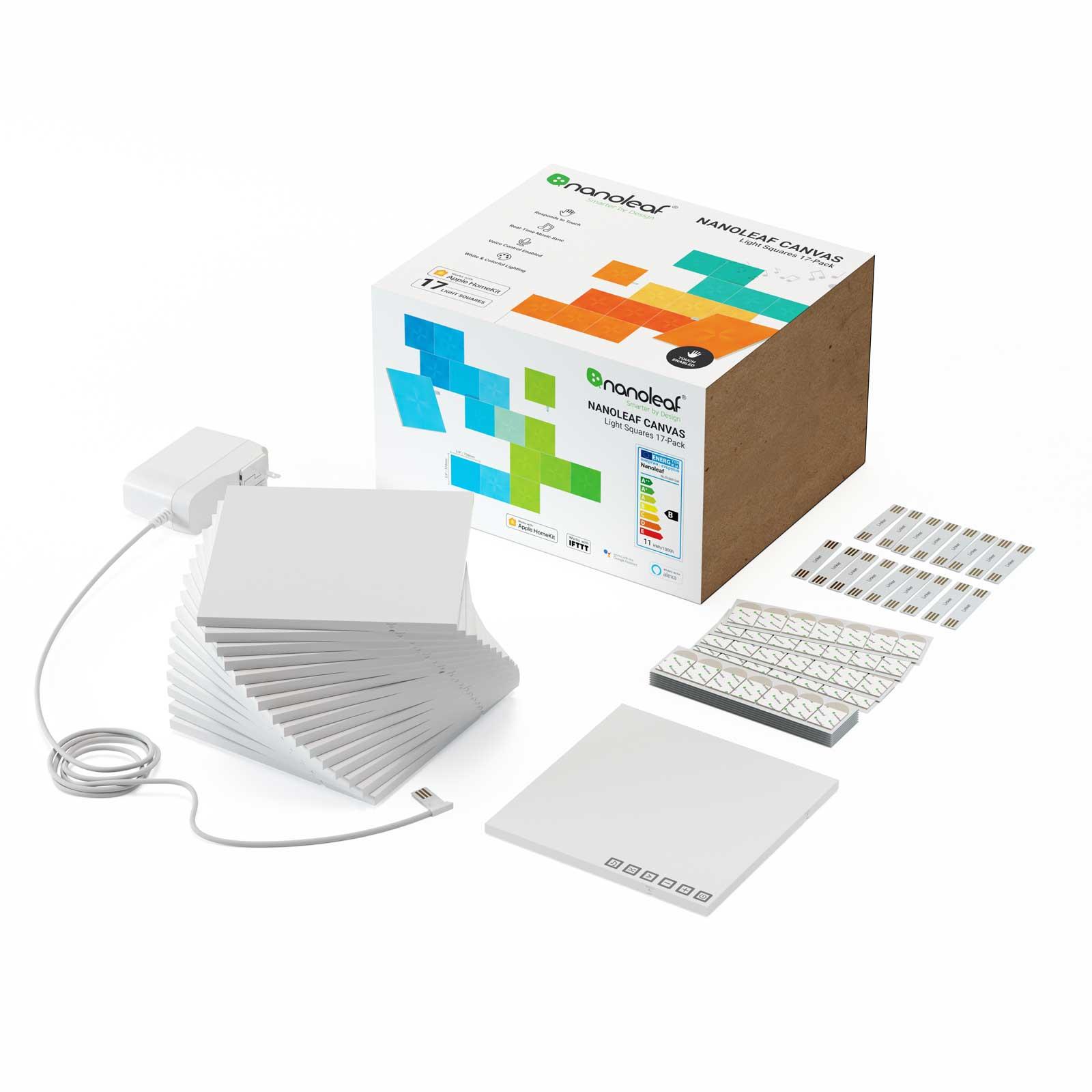 Nanoleaf Canvas Starter Kit mit 17 Light Panels
