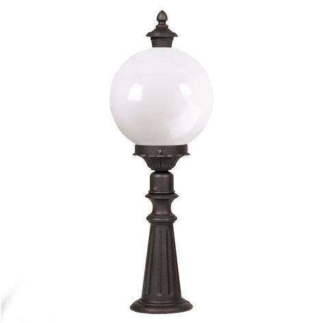 Lampione Madeira con grosso vetro acrilico