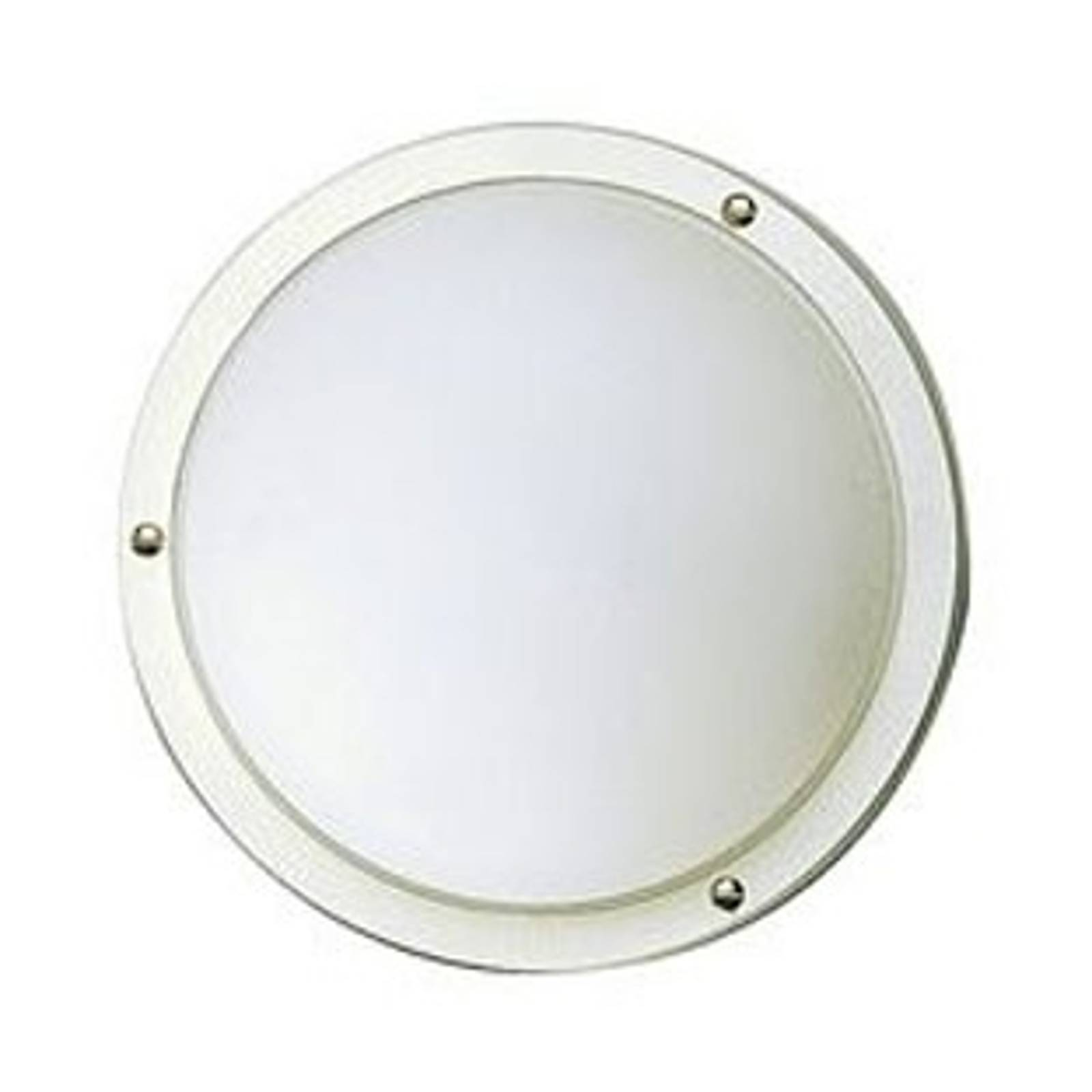 Lampa sufitowa / ścienna 297, biały, E27