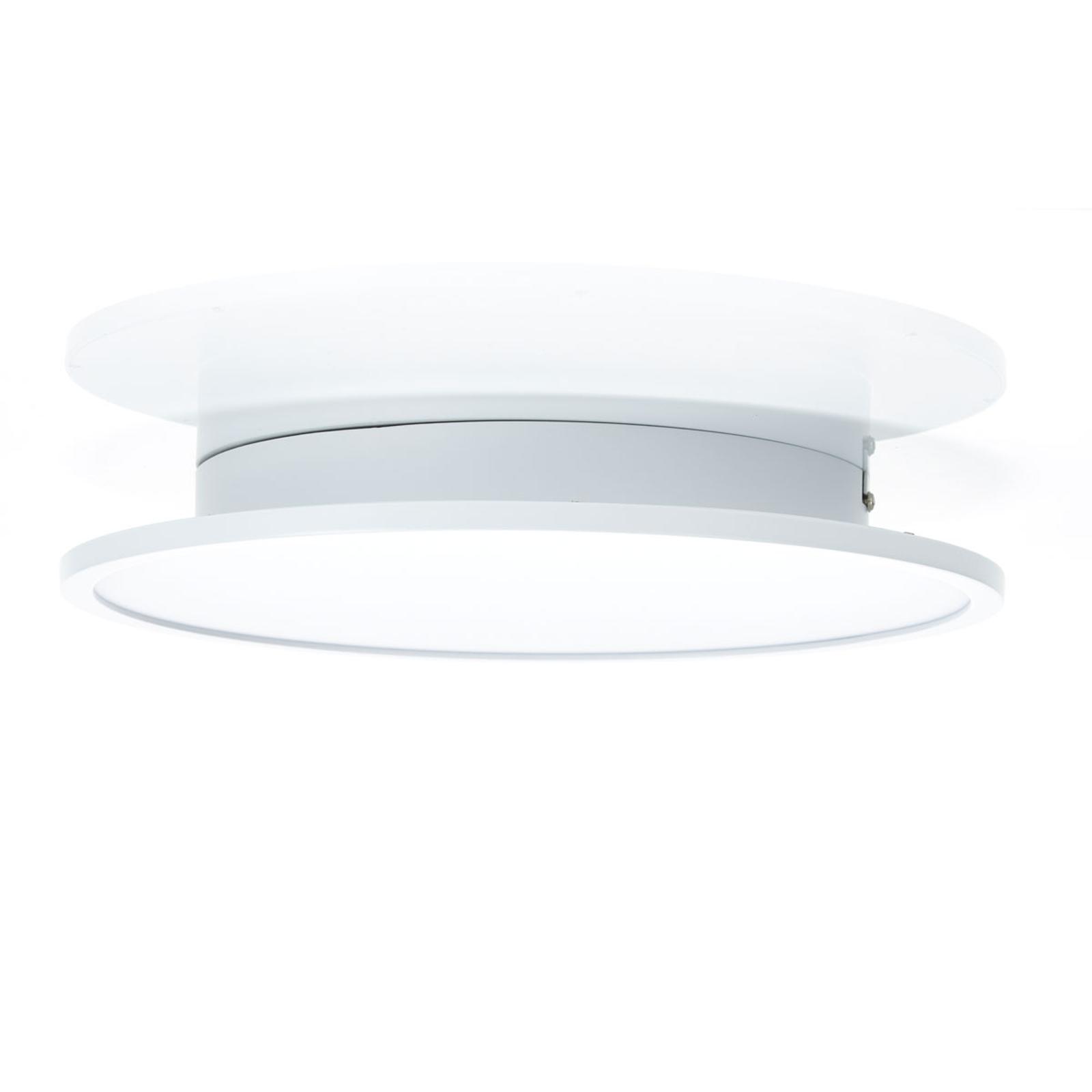LED-Deckenleuchte Ceres, easydim, weiß, Ø35cm