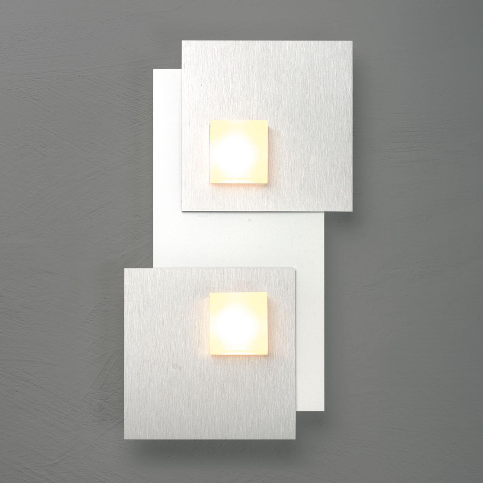 Bopp Pixel 2.0 lampa sufitowa LED 2-punktowa alu