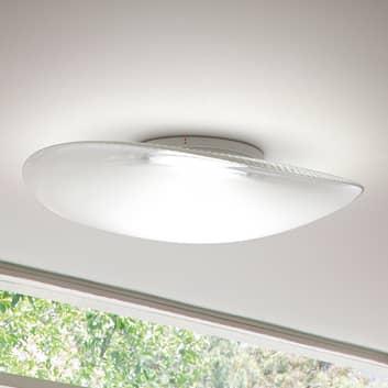 Fabbian Loop lámpara de techo de vidrio LED 3000K