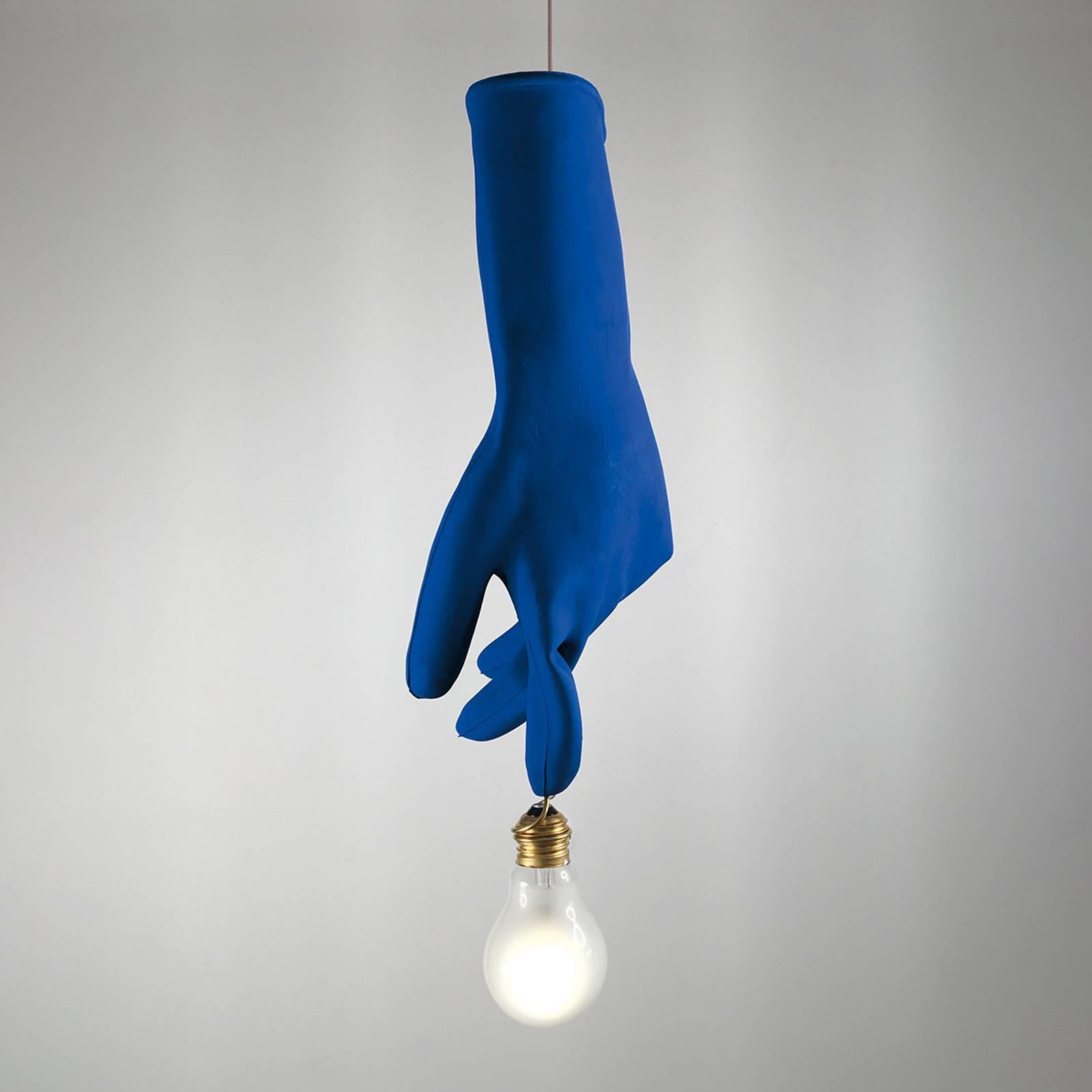 Ingo Maurer Blue Luzy LED hanglamp blauw