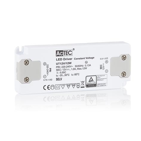 AcTEC Slim LED driver CV 12V, 12W