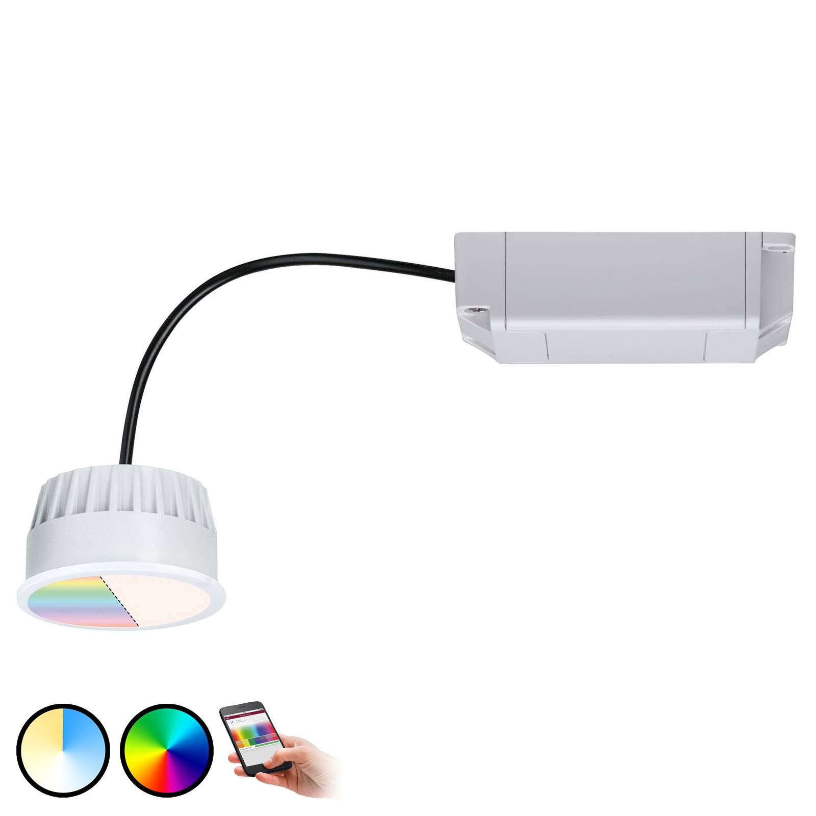 Paulmann Smart Friends ZigBee LED-Modul Coin, RGBW
