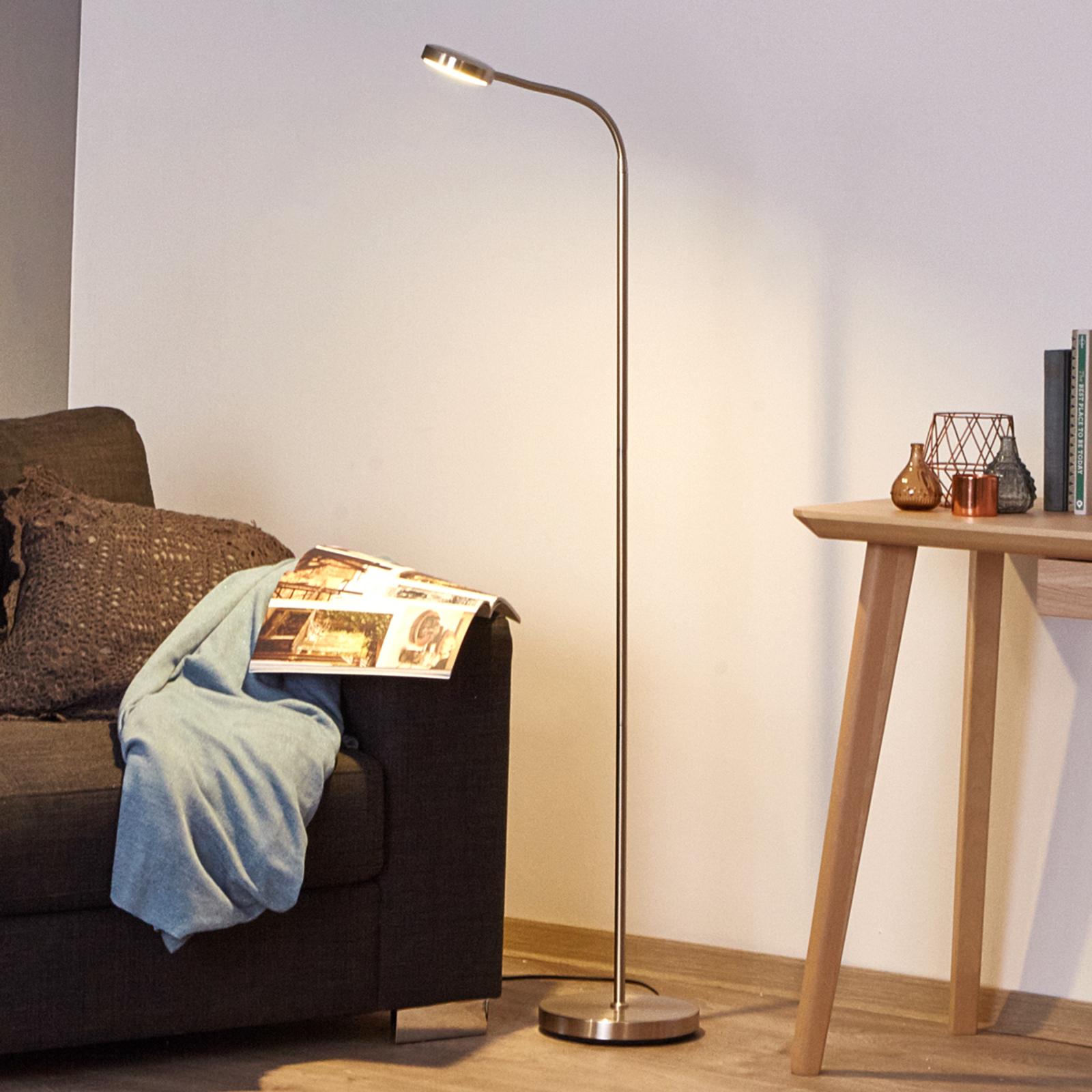 Praktisk LED-leselys med svanehals