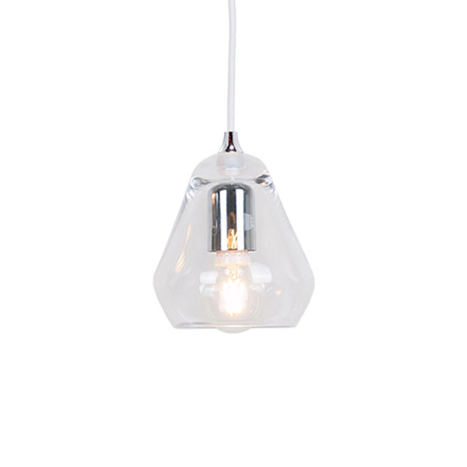 Innermost Core 15 - glashængelampe, klar
