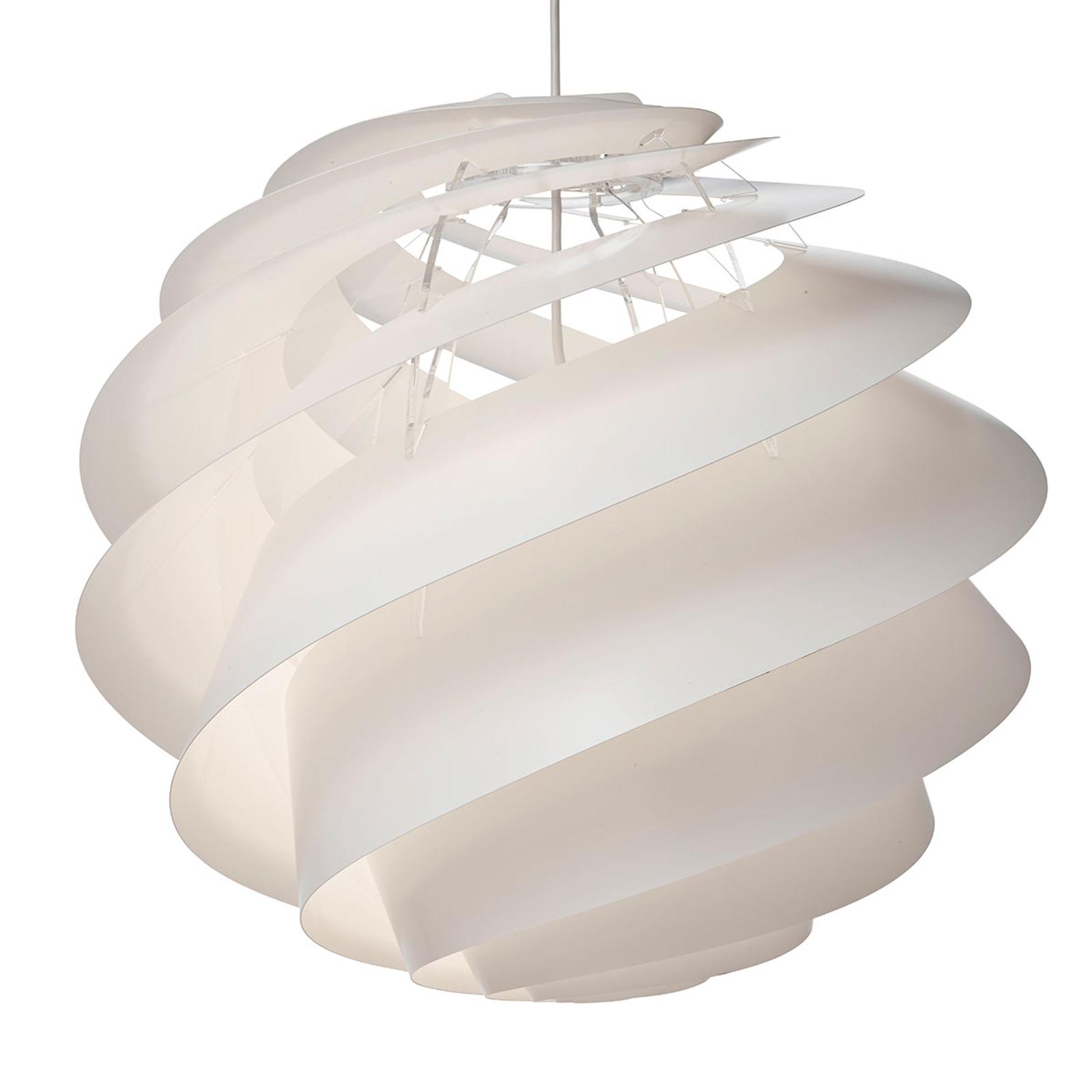 LE KLINT Swirl 3 Large - závěsné světlo v bílé