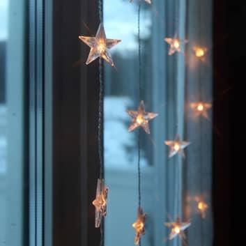 LED-Lichtervorhang Star 30-flammig