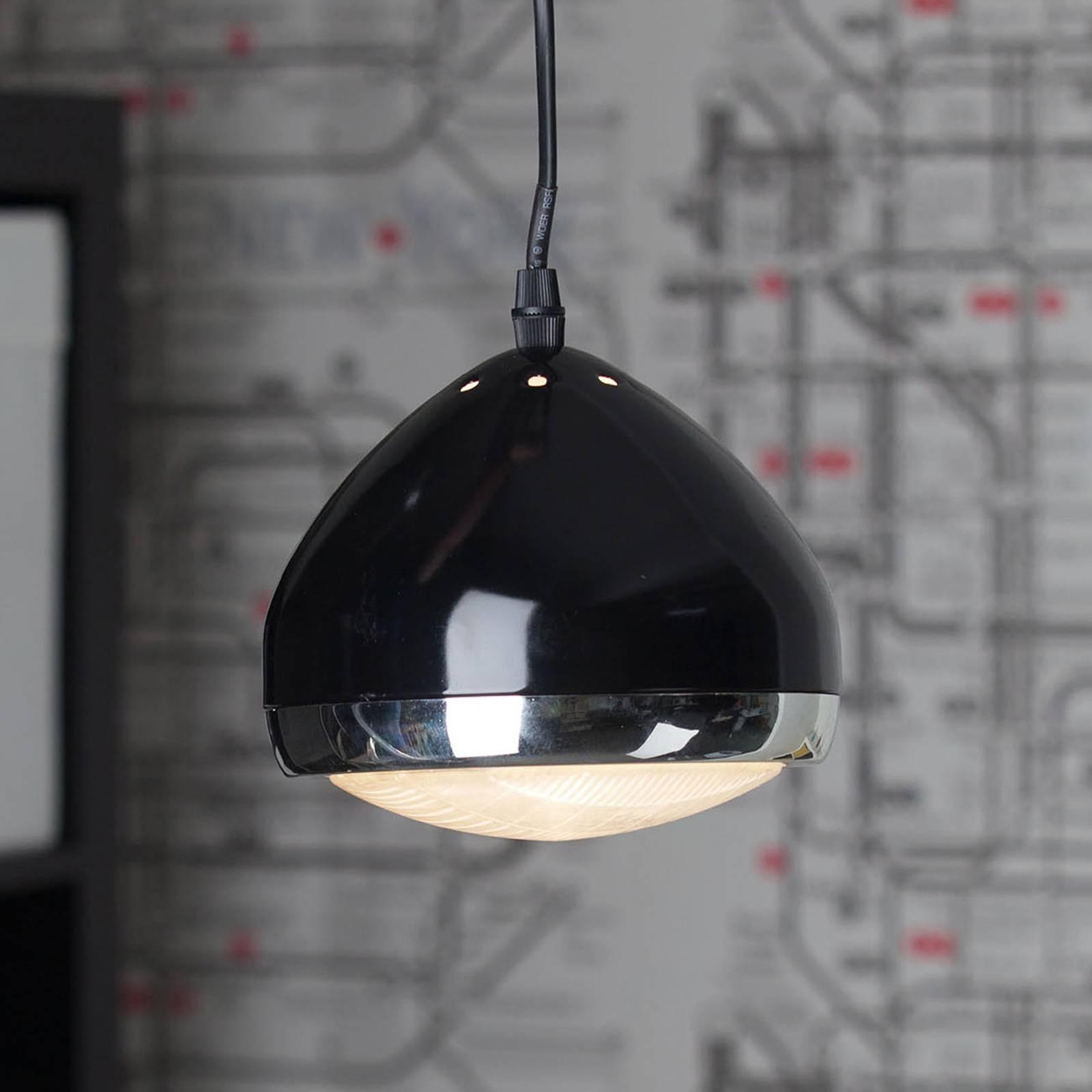 1-punktowa lampa wisząca RIDER czarna