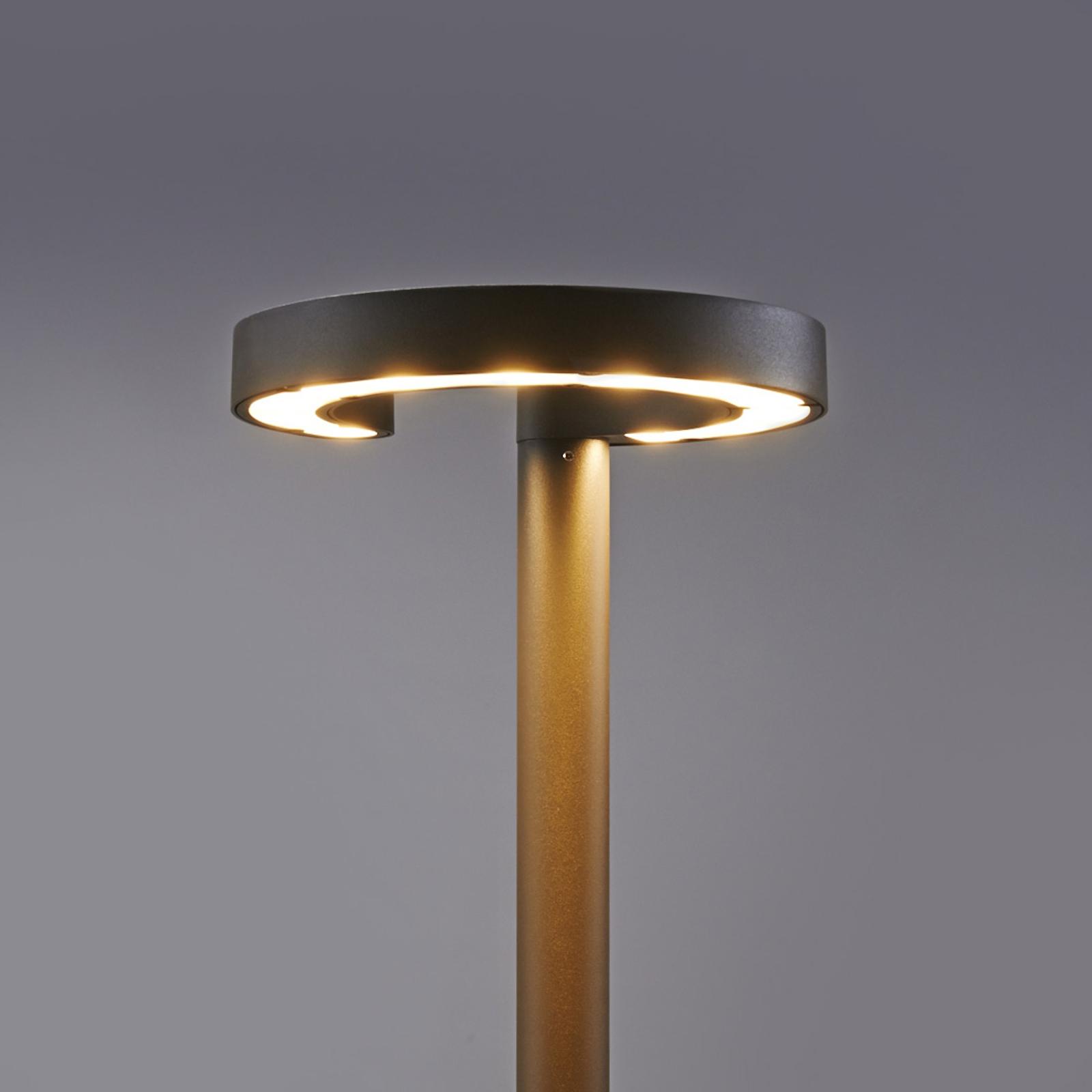 Lampadaire rond Jannis à LED Cree 24 W