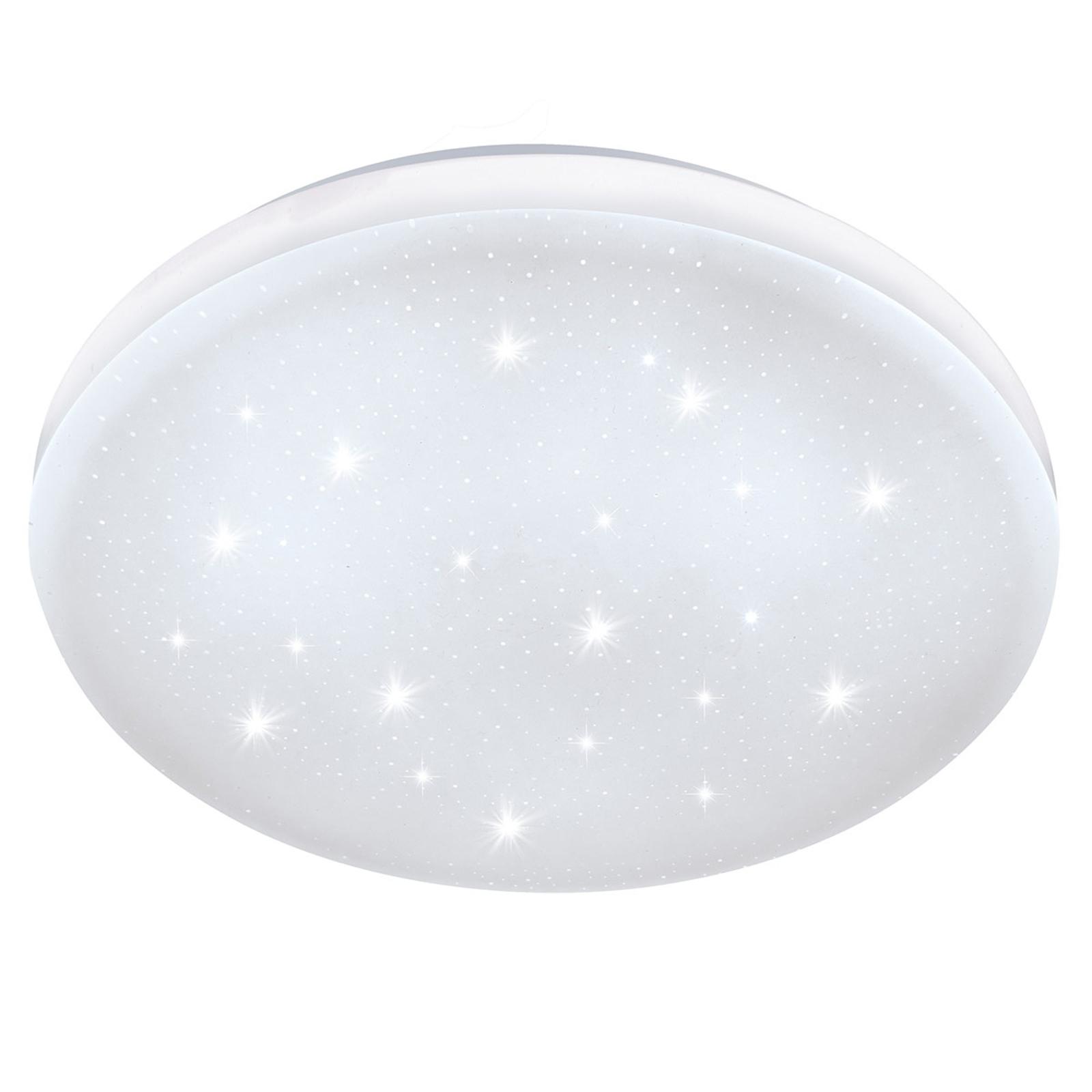 Lampa sufitowa LED Frania-S efekt kryształu Ø33 cm