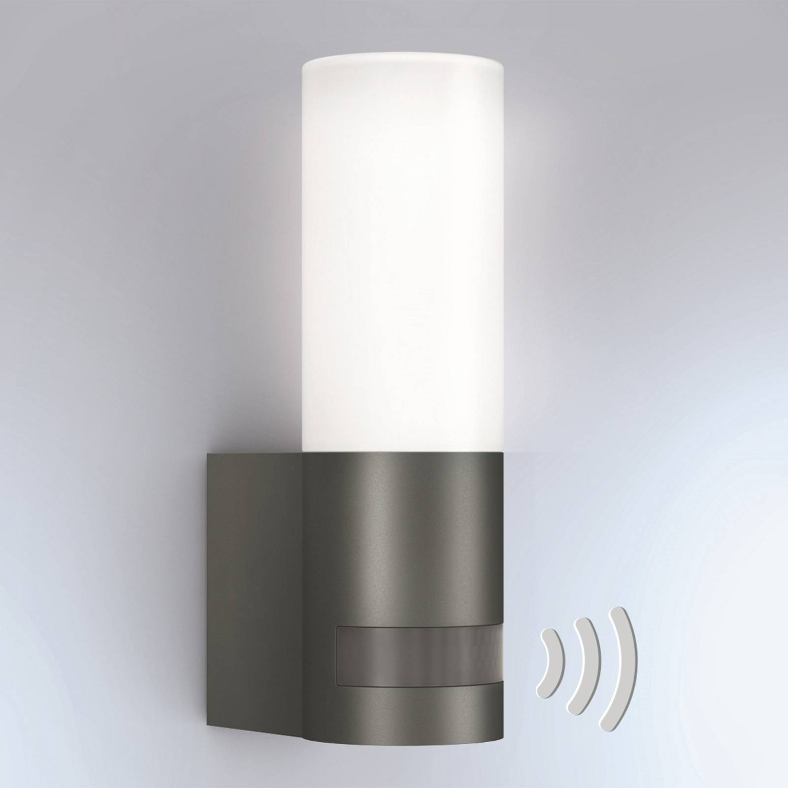 STEINEL L 605 LED-Außenwandleuchte Sensor IP44