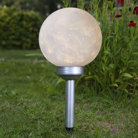 Lámpara LED solar Lunay, luz rotatoria