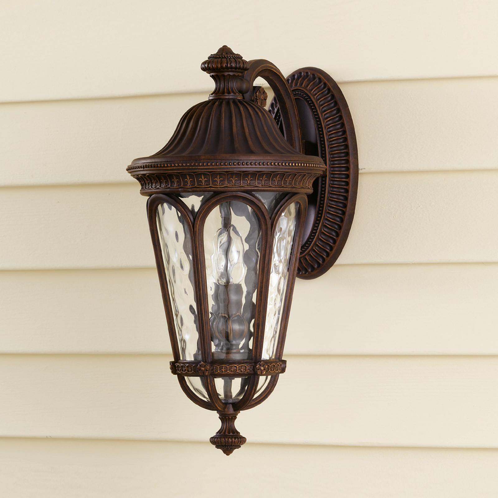 Lampa ścienna zewnętrzna REGENT COURT 2-punktowa