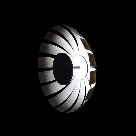 Plafoniera LED di design Loto, antracite