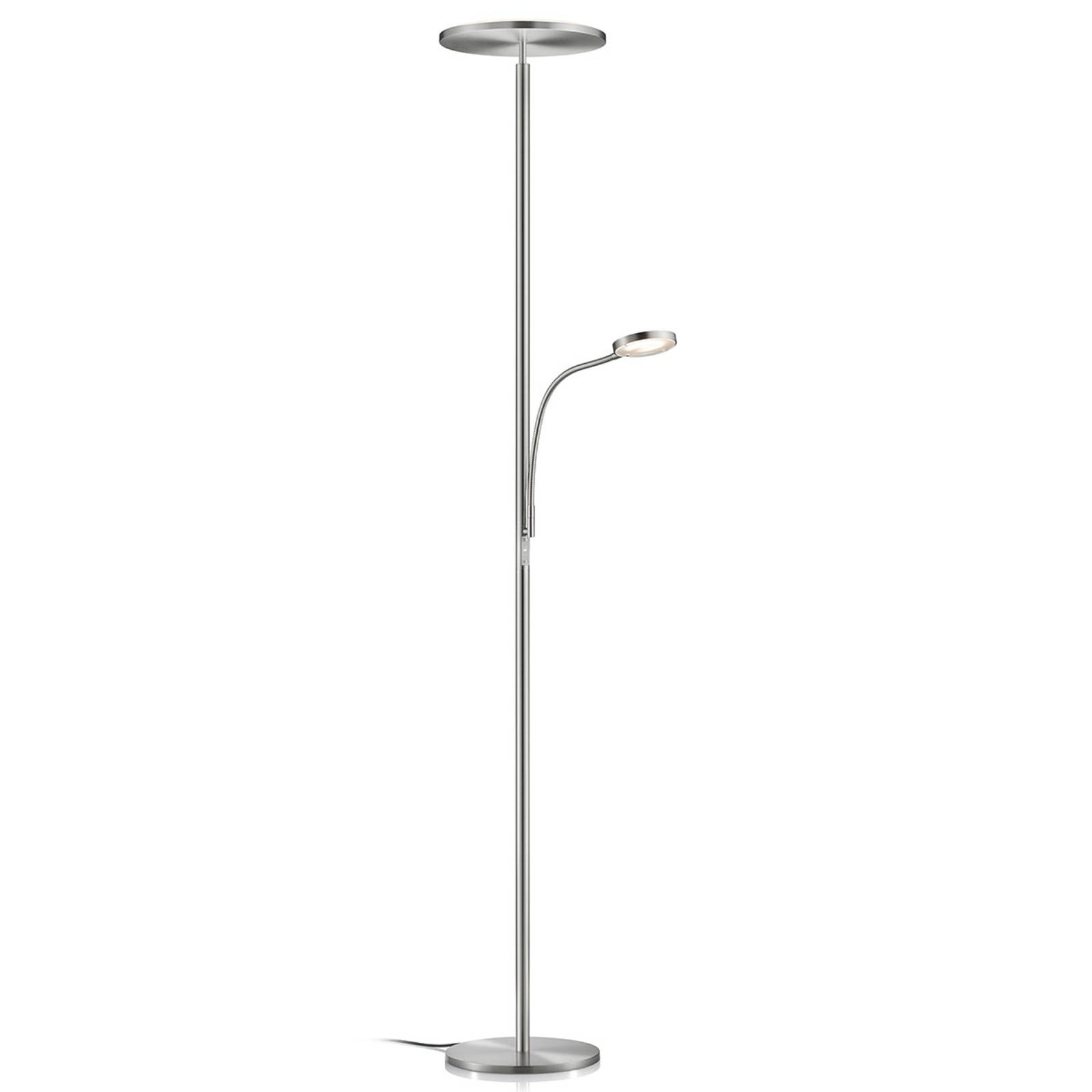 Lampadaire indirect LED Hadès dimmable liseuse LED