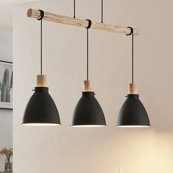 Lindby Trebale závěsné světlo, třížárovkové