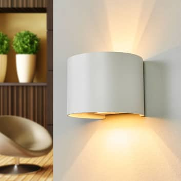 Xio - LED-væglampe i hvid