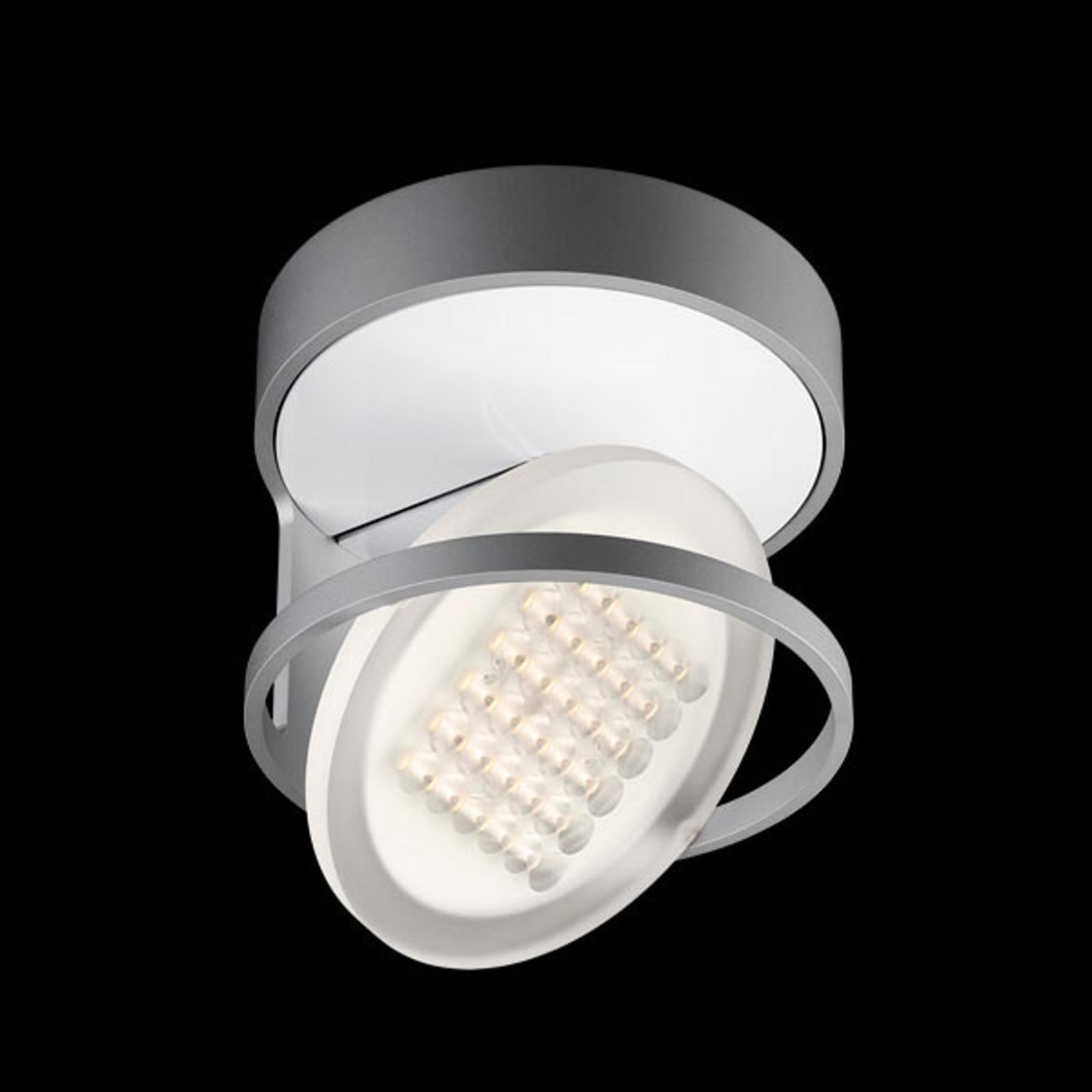 Nimbus Rim R 36 lampa sufitowa LED, srebrny tonic