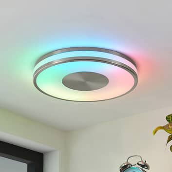 Lindby Fjella stropní světlo RGB-CCT změna barvy