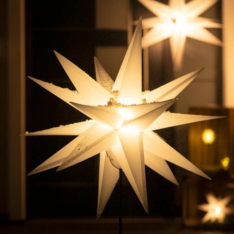 LED-Stern für außen, mit Erdspieß, Ø 55 cm