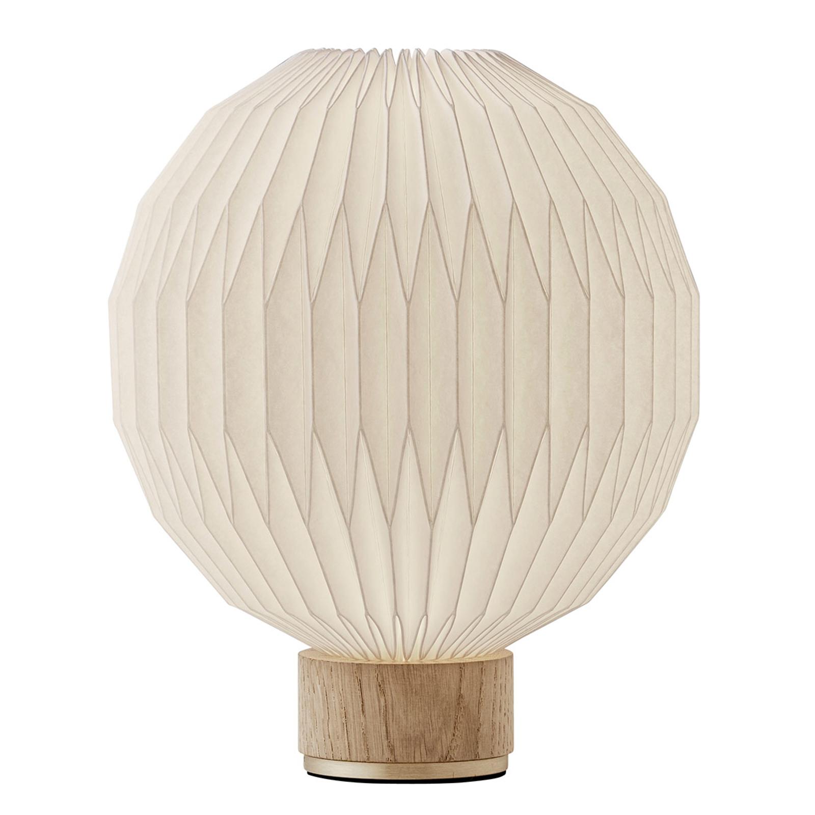 LE KLINT 375 stolní lampa papírové stínidlo 25 cm